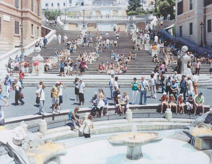 Piazza di Spagna Orizzontale Uno, 2007