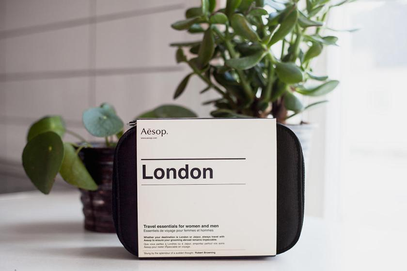 Aesop- London Travel case review