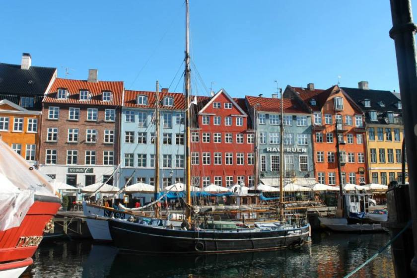The stunning Nyhavn district
