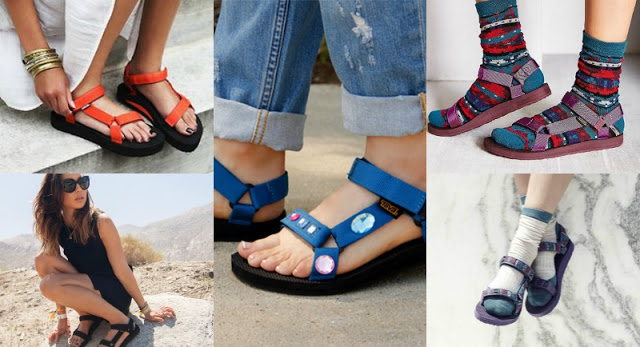 tevas sandals are now cool