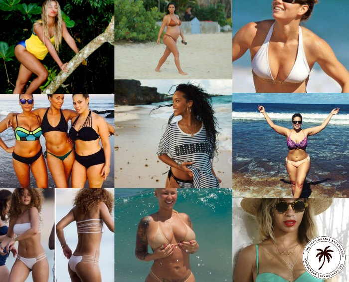 beautiful healthy beach babesbeyonce rihanna